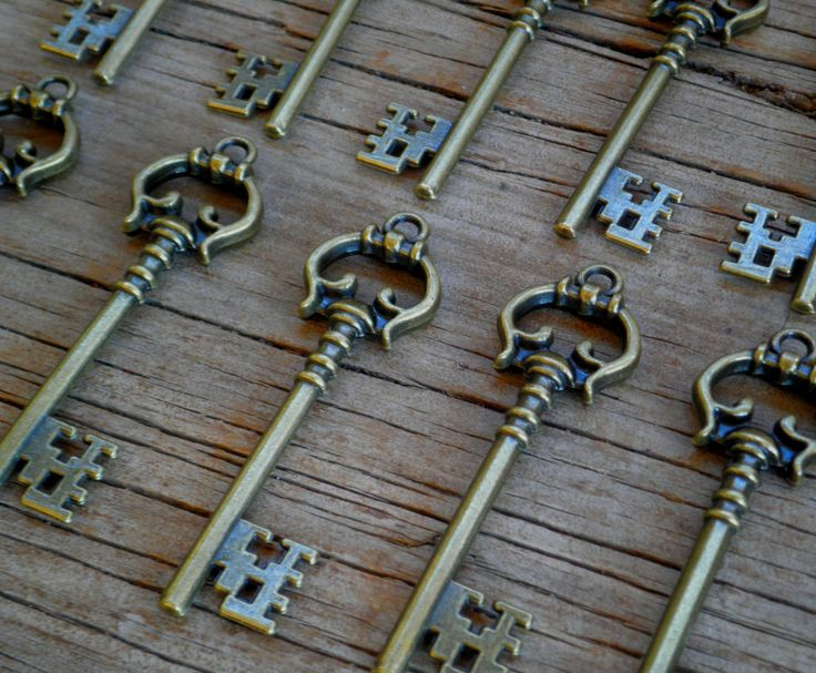 vintage keys for weddings parties anything. I have plenty for sale @$1.00 per key, 6.7cm, long http://stores.shop.ebay.com.au/KEYEDINKEYS