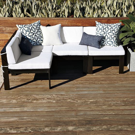Great More Like Home: Our New Outdoor Sectional