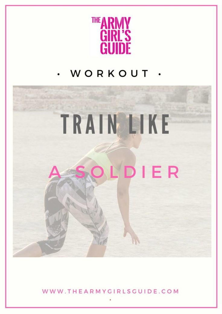 You've got to try this Military Inspired Circuit Workout. If you want a tough all over body workout that will get you sweatier than a soldier in the desert wearing body armour then take a look! – The Army Girl's Guide