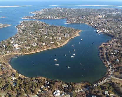 Aerial View Of Ryder 39 S Cove Chatham Cape Cod The 2007