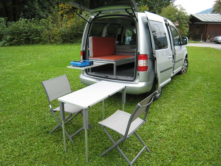 Caddy Camp - mobiler Tisch