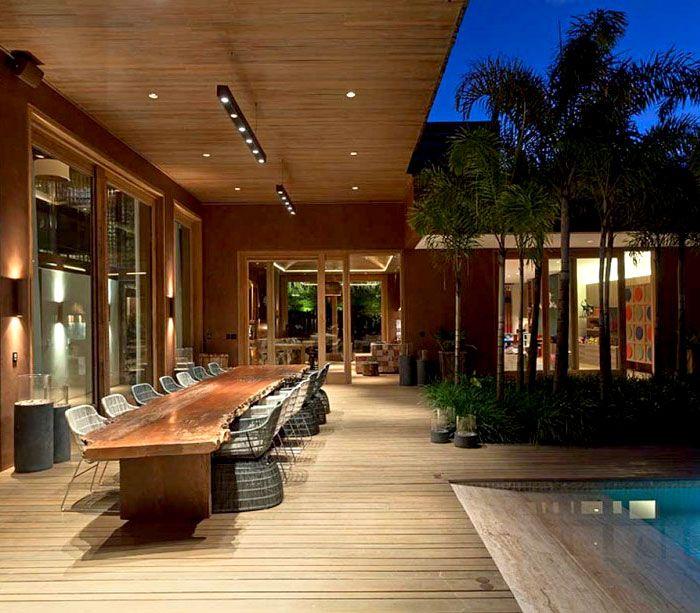 Luxurious Casa Nova Lima with Dramatic Landscape Compositions casa nova lima outdoor