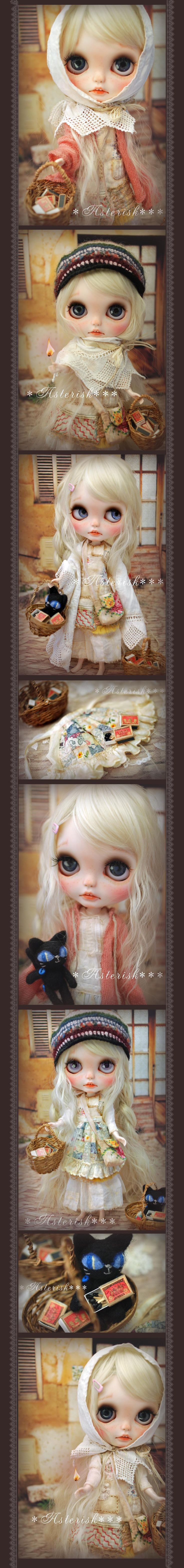 * Custom Blythe The Little Match Girl -Asterisk *** - Auction - Rinkya! Japan Auction & Shopping