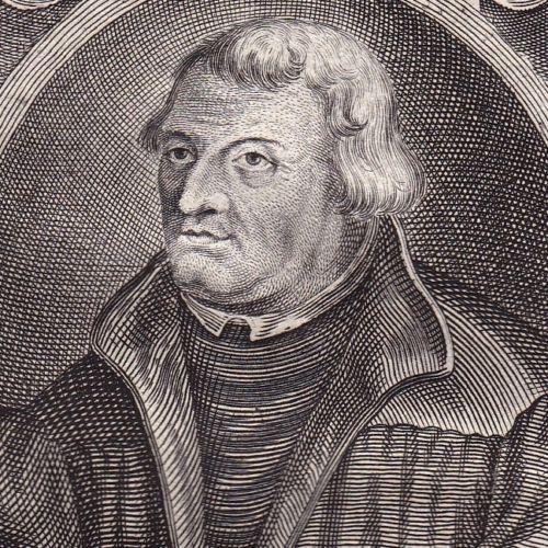 Portrait-XVIIIe-Martin-Luther-Protestant-Protestantisme-Protestant-Reformation