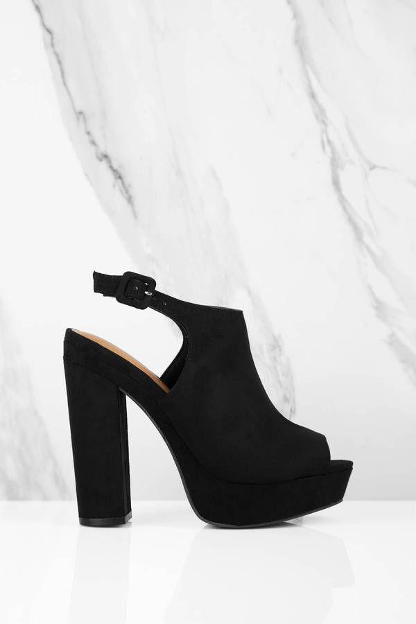 Avenue, Zapatos con Tacon y Correa de Tobillo para Mujer, Negro (Black 00), 36 EU Kurt Geiger