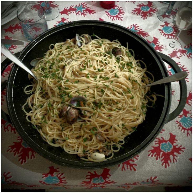 Spaghetti alle vongole.
