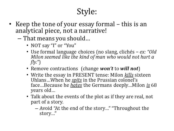 What Is An Essays Tone - The best expert's estimate