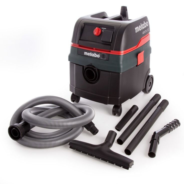 Metabo ASR25LSC Wet Dry Vacuum Dust Extractor with attachments to make it the all round machine...240V EAN 4007430241078...110V EAN 4007430241085...Free...