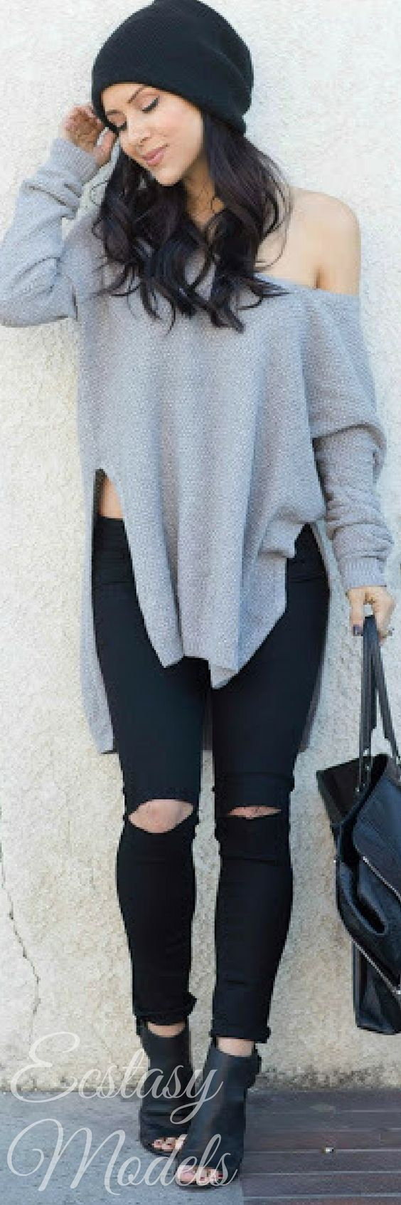 DISTRESSED DENIM // Fashion By Andee Layne