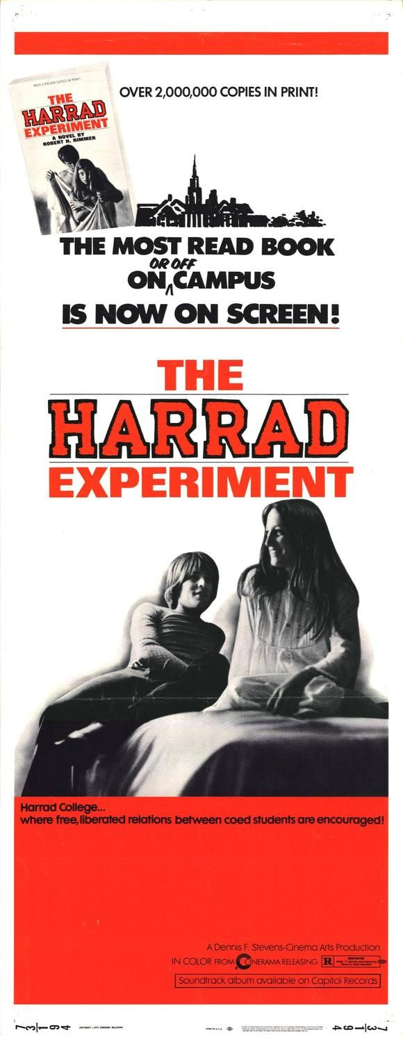 The Harrad Experiment (1973) Cast: James Whitmore, Tippi Hedren, Don Johnson, Bruno Kirby, Laurie Walters, Victoria Thompson, Elliot Street, Sharon Taggart, Robert Middleton, Billy (Billie) Sands, Melanie Griffith Directed By: Ted Post