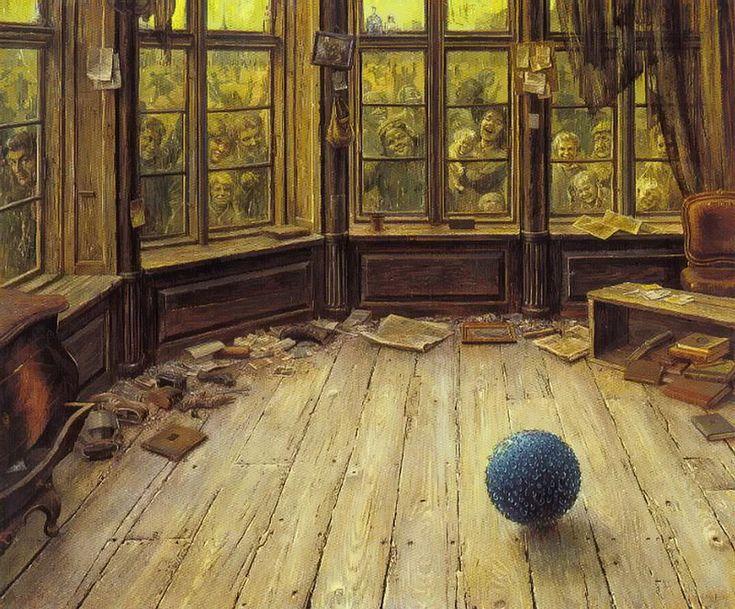 Otto Frello, the blue ball