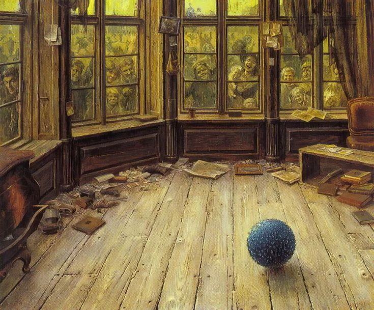 Otto Frello, the blue ball
