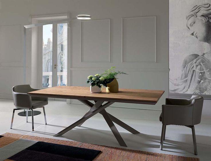table rectangulaire 4x4 ozzio design contemporain caen - Voir en grand