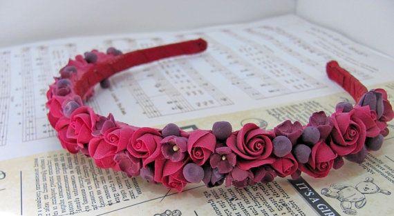 Flower wreath wreath hair wreath hair от MarinaShestorkina на Etsy