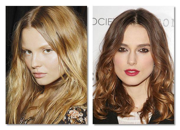 Цвет волос Стремитесь к естественным и богатым оттенкам волос. Меняя цвет волос, следите чтобы эффект был реалистичным. Используйте темное мелирование (low-lights) и мягкие струящиеся пряди цвета вместо драматичных ярких прядей.Красота, вдохновленная природой