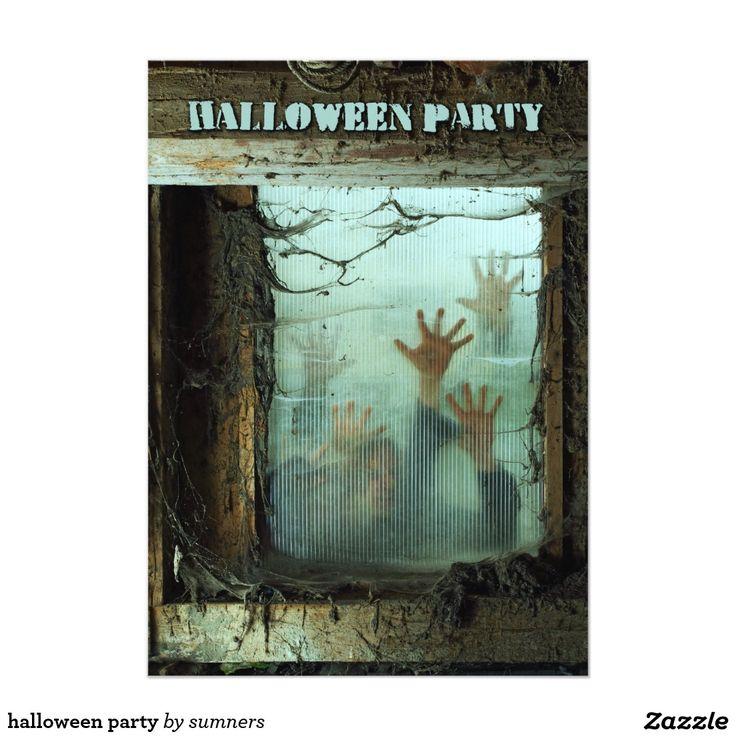 Best 75+ Halloween Chic Invitations images on Pinterest   Halloween ...