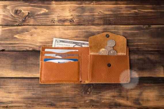 card holder wallet credit card wallet coin pocket wallets slim wallets billfold wallet minimal wallet brown genuine leather travel wallet