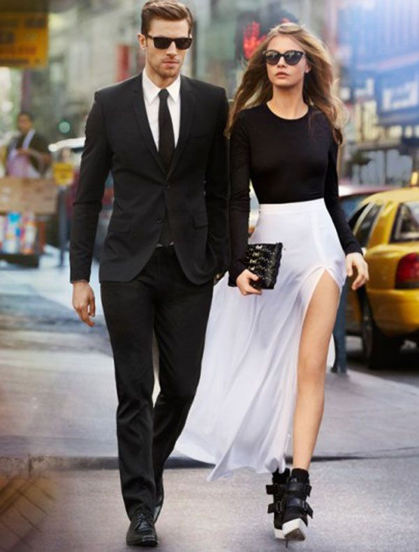 Cara Delevingne is Babe for DKNY of the Day