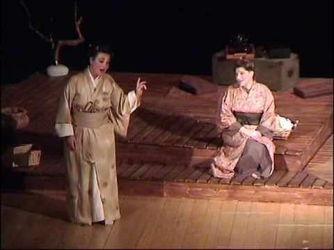 Laboratorio Brunier Madame Butterfly di  Giacomo Puccini atto secondo