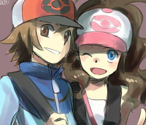 Resultado de imagem para white holding Black pokemon manga