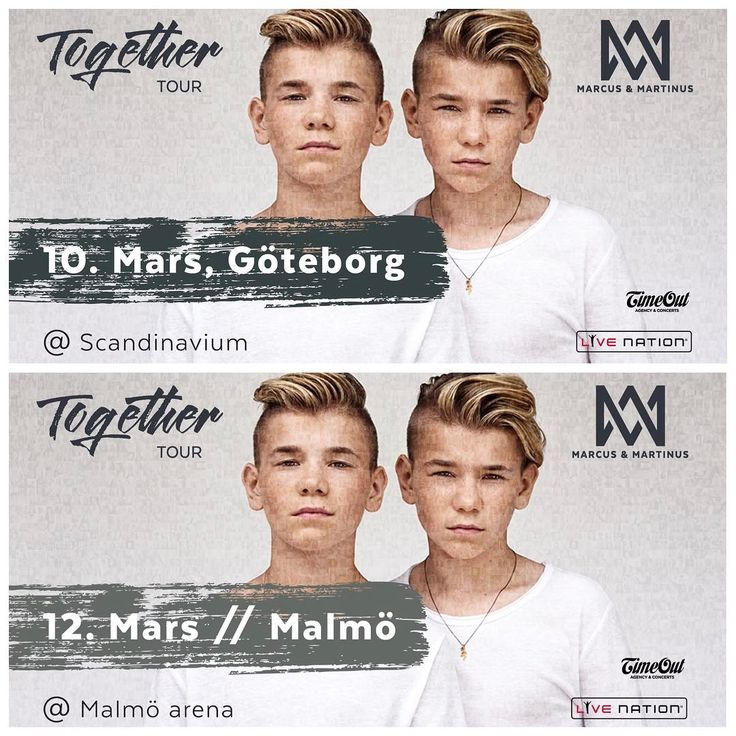 Sweden❤ There's just been released a few extra tickets to our concerts in Gothenburg and Malmö! Be quick, link in bio See you this weekend?