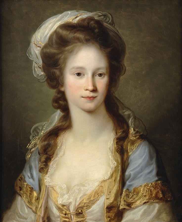 Musica & Arte: Portrait of a Lady, Angelica Kauffmann: The Portrait of a Lady, ca. 1780