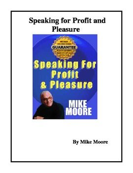 All you need to know and do to enter the profitable and satisfying world of motivational speaking. It is designed for teachers who are interested i...