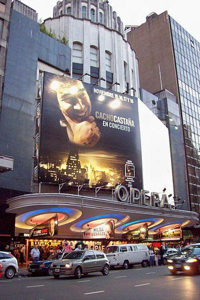 Argentina, Buenos Aires: Teatro Opera Avenida Corrientes