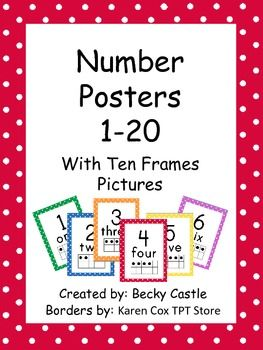 B Bef F D Ef C E on number posters for preschool