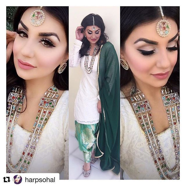 WEBSTA @ pinkorchidstudio - #Repost @harpsohal・・・Day 1 of #P2getshitched ootd! Let the festivities begin Suit @thagasuits Jewelry @shimmercollection Shoes @indiatrend Motd @pinkorchidstudio bombshell mink lashes, Mimi lipstick