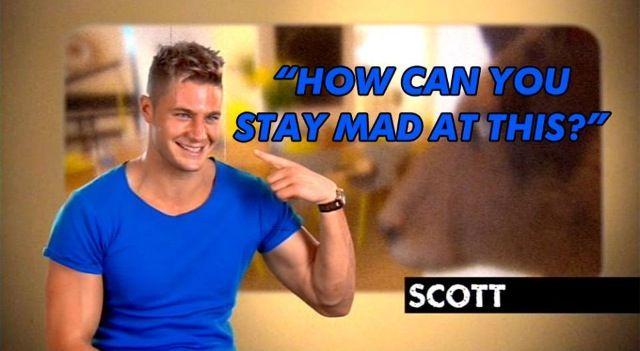 . Geordie shore. Quote. Scott