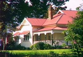 Australian country  farm house