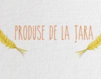 Produse de la tara by Celmaitare , via Behance