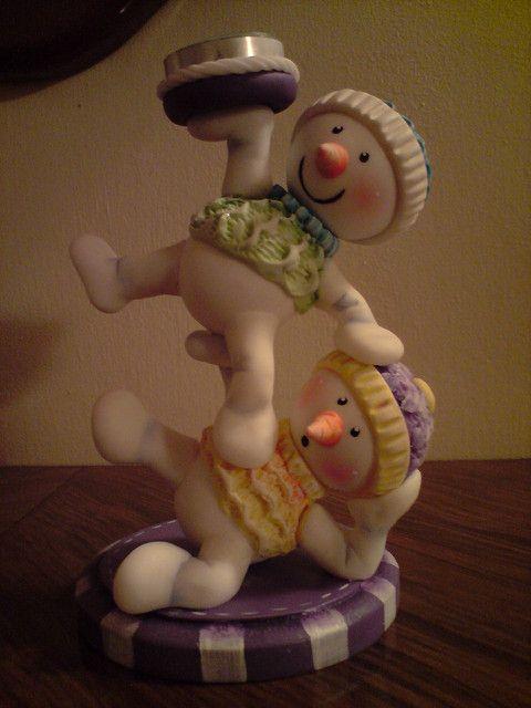 https://flic.kr/p/7HnA5Z | Porta vela muñecos de nieve | NYX