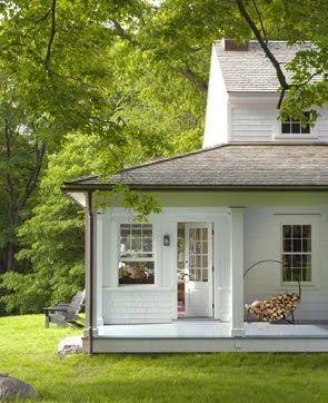 farmhouse, porch