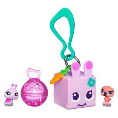 LITTLEST PET SHOP TEENSIES Keychain – Snail and Flamingo      Approx. Retail: $3.99    Item: 38904     #T199 Snail   #T200 Flamingo