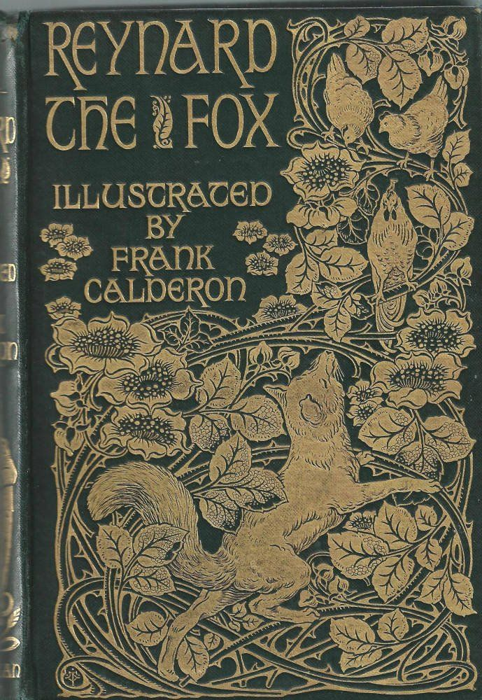 "19th Century. Book cover. ""Reynard the Fox."""