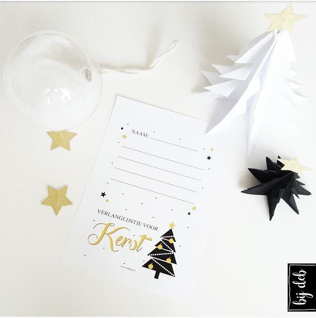 bijdeb: Free printable verlanglijstje voor Kerst...