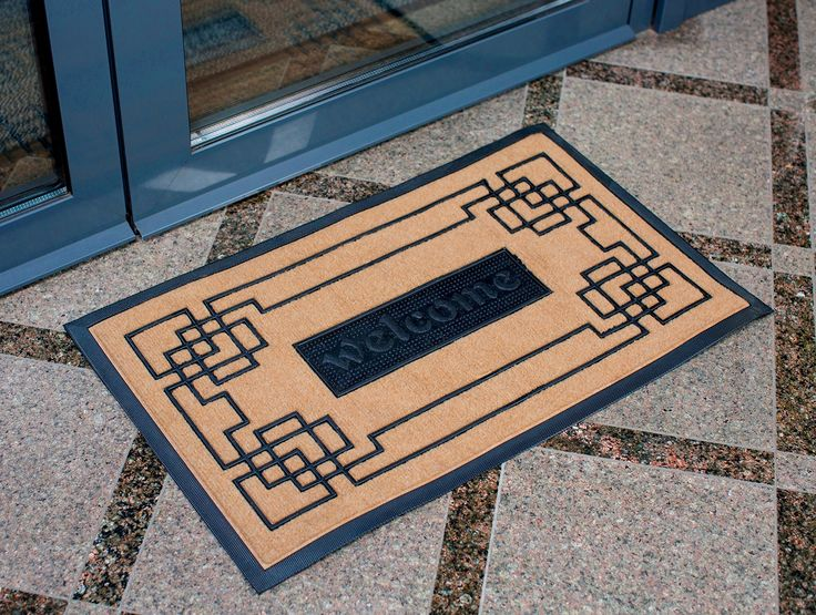 10 ideas about front door mats on pinterest front porch. Black Bedroom Furniture Sets. Home Design Ideas