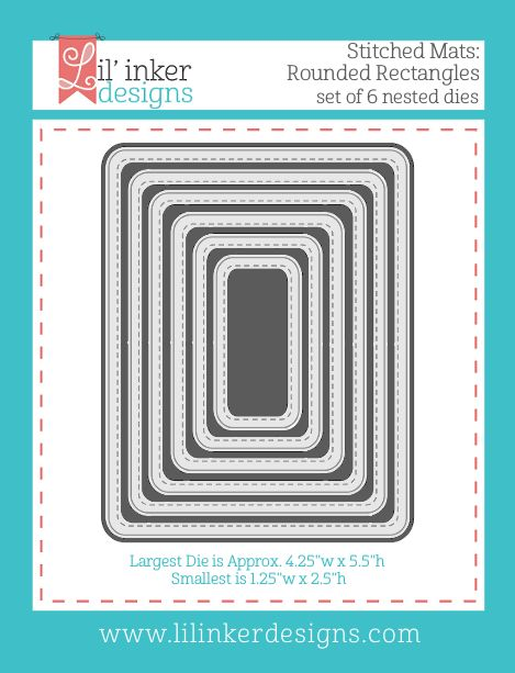 Lil' Inker Designs - Stitched Mats: Rounded Rectangles, $26.95 (http://www.lilinkerdesigns.com/stitched-mats-rounded-rectangles/)