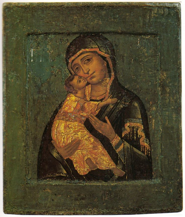 Богоматерь Владимирская. Первая треть XVIII в. Ярославль
