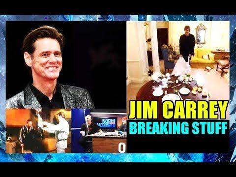 Jim Carrey Breaking Stuff Is Hilarious - MUST WATCH JIM CARREY BREAKING ...