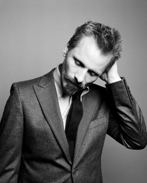 Viggo Mortensen.  Can't wait for A Dangerous Method!  Mustache madness!