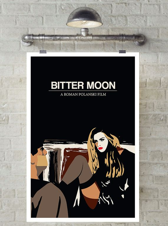 Bitter Moon Hugh Grant Emmanuelle Seigner Minimal Movie by MunaMia