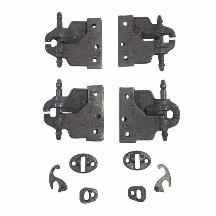 Acme Cast Iron Mortise Shutter Hinge 3 1/8 x 5 1/2 | Renovator's Supply (Renovator's Supply)