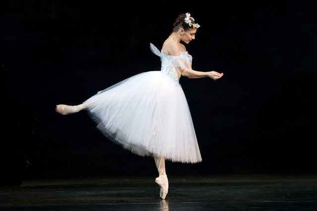 Alina Cojocaru as The Sylph in La Sylphide. Photo by Johan Persson by Royal Opera House Covent Garden, via Flickr