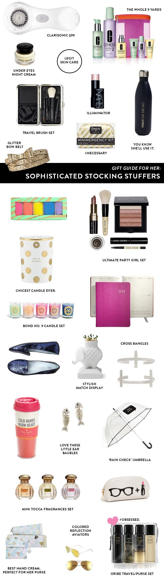 For Her: Sophisticated Stocking Stuffers