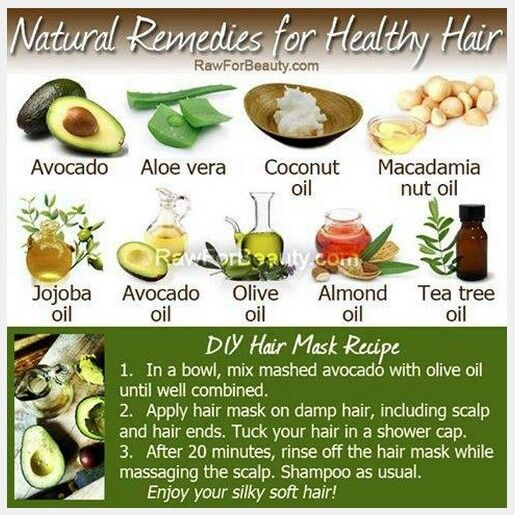 how to get healthy hair naturally home remedies