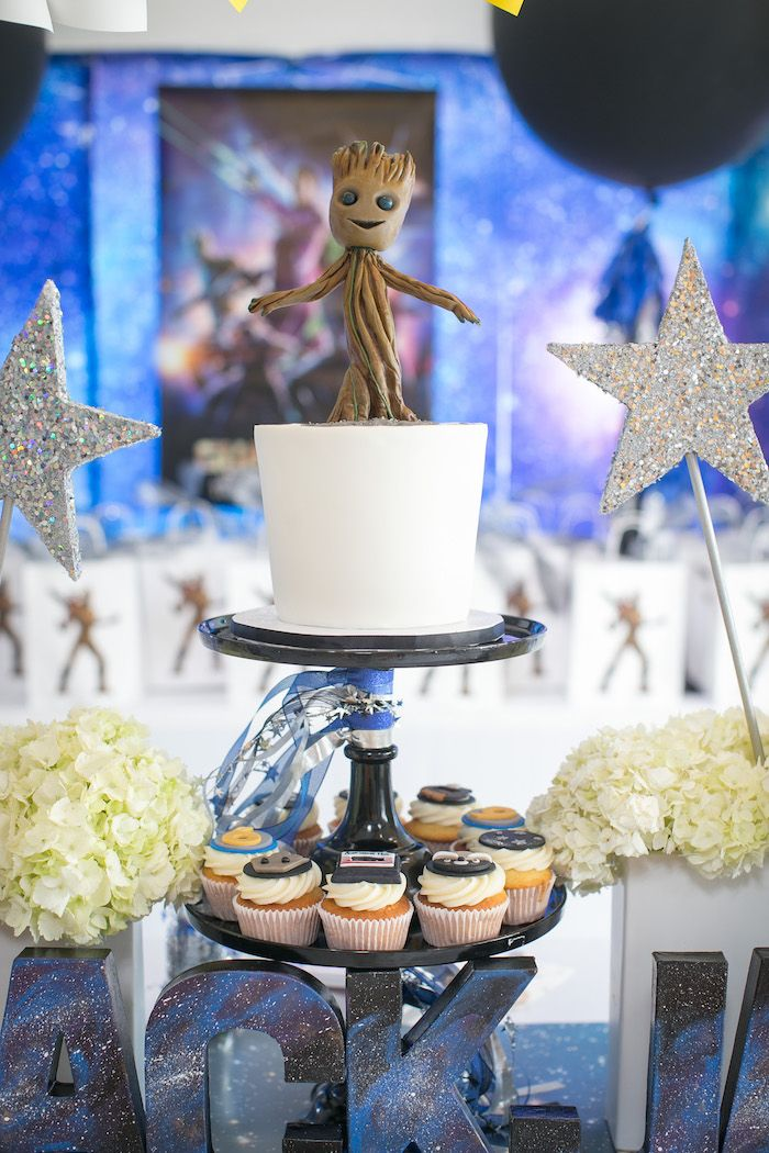 Quot Guardians Of The Galaxy Quot Birthday Party Awesome Party
