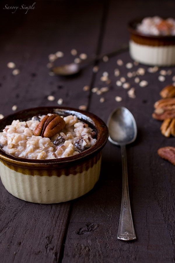 Farro Pudding is a healthier version of rice pudding that's every bit as decadent!